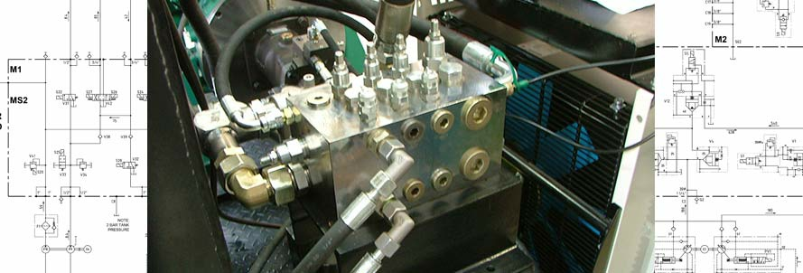 Diesel engin powered emergency Hydraulic power unit